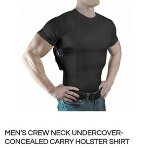 Undercover Concealed Carry Holster Shirt for Men